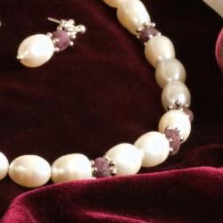 Perlen und Rubine